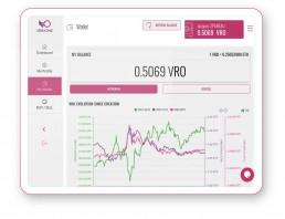 My wallet feature VeraOne app